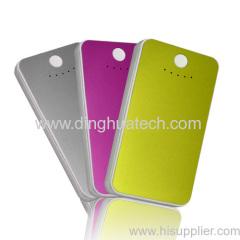 Ultra-thin Mobile Power Supply (Aluminum alloy shell) (3500MAH)