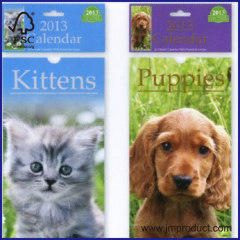 2014 animals small calendar