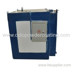 small powder coating oven