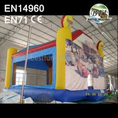 Inflatable Car Theme Bounce House