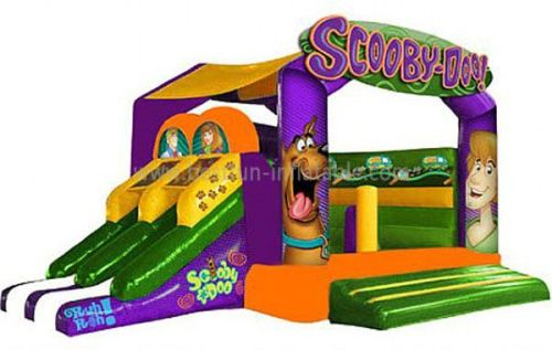 Inflatable Scooby-Doo Bounce House