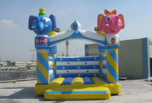 Small Elephant Inflatable Bouncer