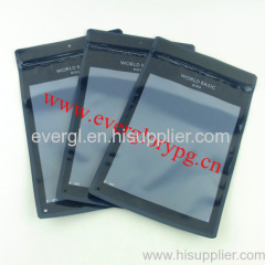 heat sealed ziplock plastic garment bags
