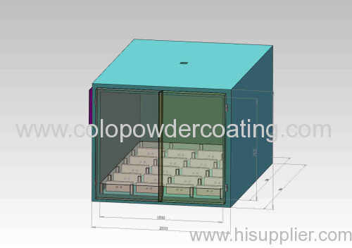 composite powder curing oven