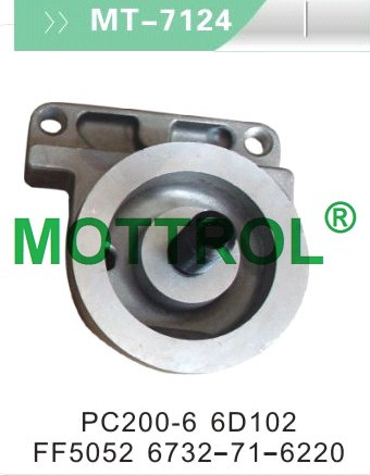 PC200-6 6D102 FUEL FILTER SEAT
