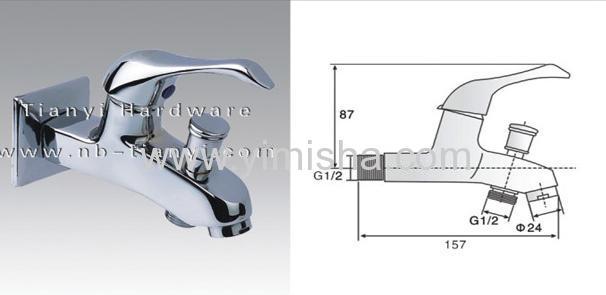 Deluxe Brass Muti-functional Water Faucet