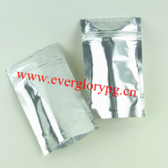 moisture proof pure foil stand up pouch for tea