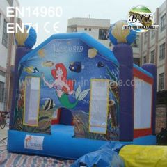 13ft Inflatable Mermaid Bouncer