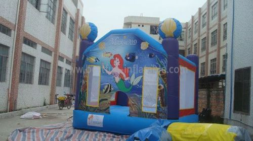 Inflatable Mermaid Bounce House