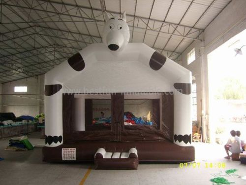 Animal Inflatable Cow Bouncer