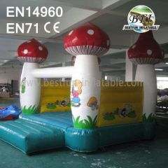 Inflatable Mushroom Bounce House