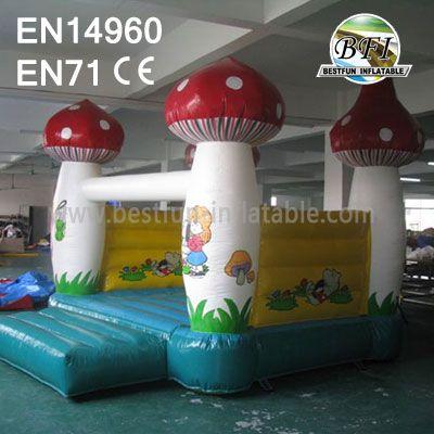 Inflatable Mushroom Bounce House