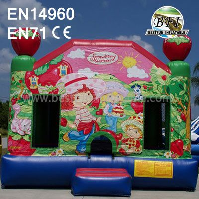 Inflatable Strawberry Theme Bouncer