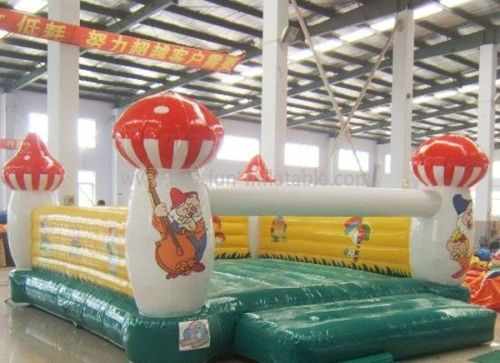 Inflatable Indoor Mushroom Bouncer