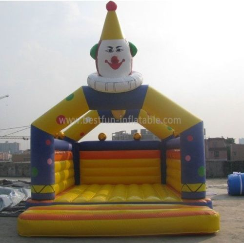 Outdoor Inflatable Clown Bouncer