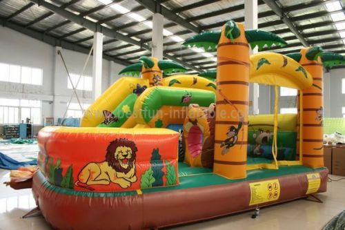 Animal Inflatable Jungle Island
