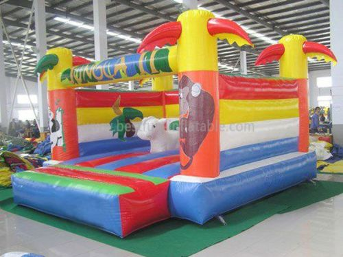 Jungle Mini Bounce House