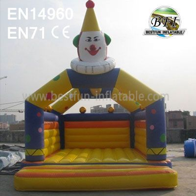 Children Party Inflatable Clown Bounce House