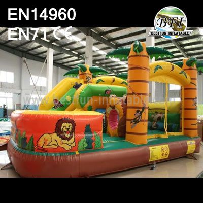 Inflatable Jungle Kids Playland