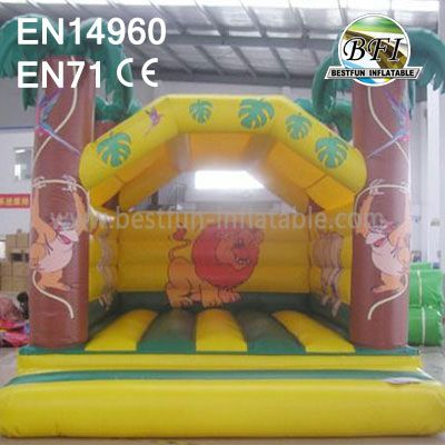Mini Inflatable Bouncer Jungle Theme