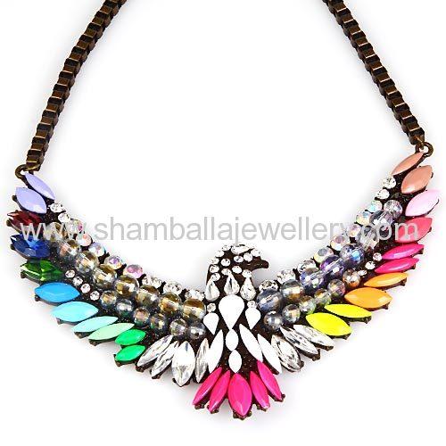 wholesale imitation jewelry shourouk Glede Pendant Necklaces 2014