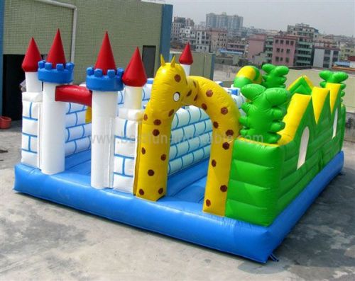 Outdoor Inflatable Tower Castle Bouncer