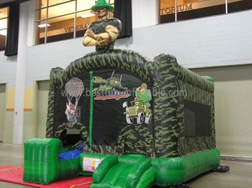 Best Commercial Inflatable Army Bouncers