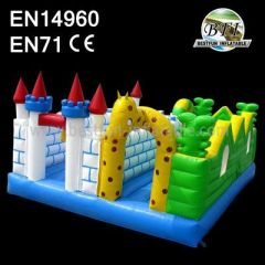 Giraffe Inflatable Jumpers Bouncers