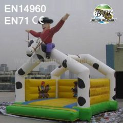 Inflatable Cowboy Bounce House