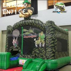 Inflatable Bouncy Castle Moonwalk