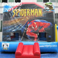 Inflatable Bouncer Spiderman rent sale