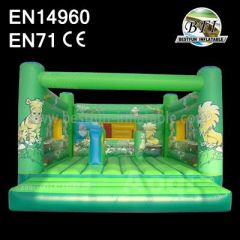 Jungle Theme Inflatable Bouncing