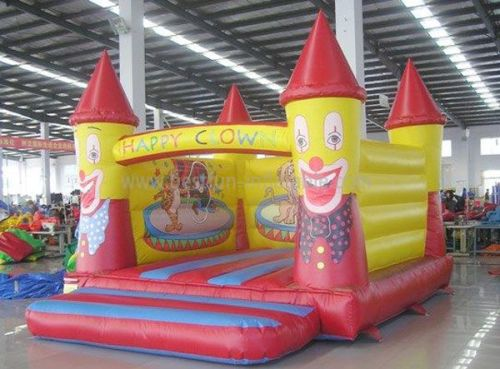 Clown Inflatable Mini Bouncer
