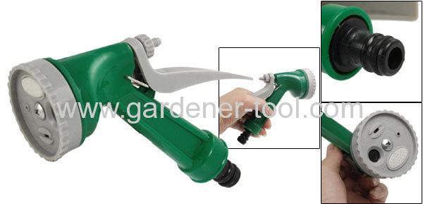 4-Dial Function Plastic Garden Hose Nozzle For Garden