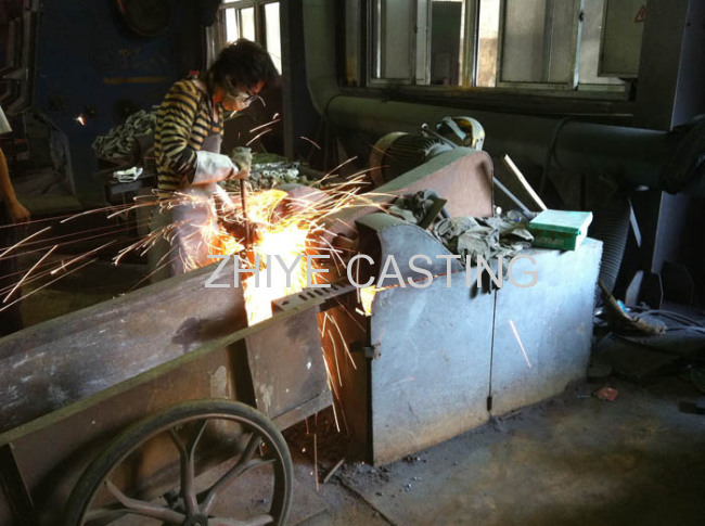 mounting plate carbon steel silica sol casting