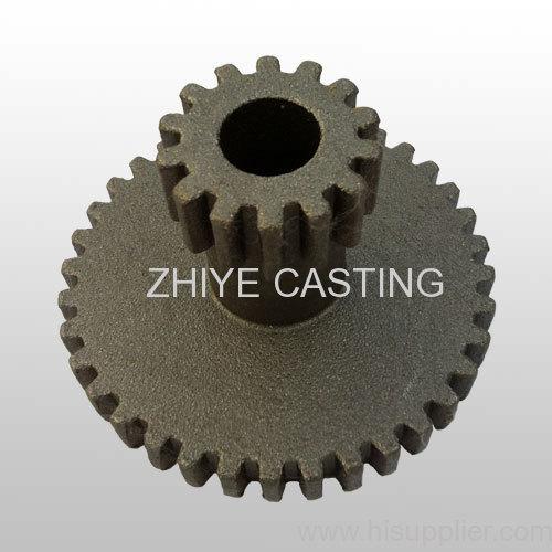 gear silica sol casting carbon steel