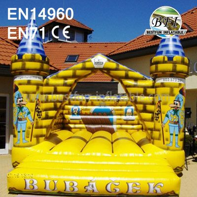 Inflatable Naughty Knight Castle