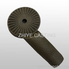 carbon steel large gear linkage silica sol casting