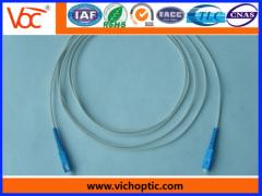 Manufacturer fiber optic pigtail simplex sc/pc 0.9