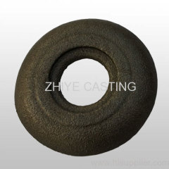 circle silica sol casting carbon steel