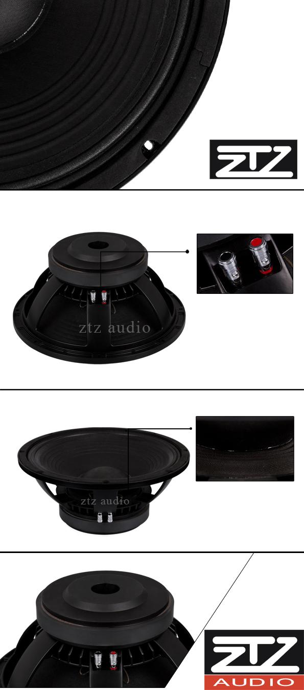 advanced hi-fi pa woofer audio loudspeaker