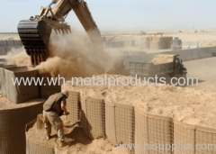 Welded mesh hesco bastion
