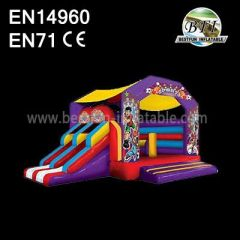 Inflatable Castle Jumpers With Side Slide