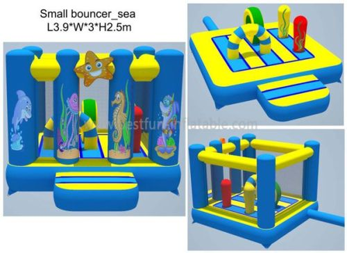 Under The Sea Inflatable Bouncer House for sale