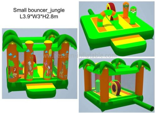 2013 New Jungle Indoor Inflatable Bouncers For Kids