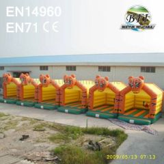 Inflatable Tiger Bouncer Manufacturer
