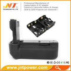 Vertical Camera Battery Pack Grip Holder for Canon BG-E6 EOS 5D Mark II