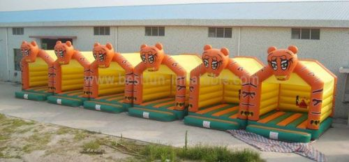 Wholesale Inflatable Tiger Bounce House