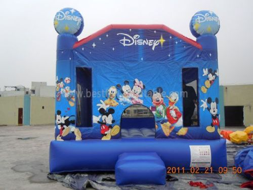 Party Inflatable Disney Mickey Bounce House