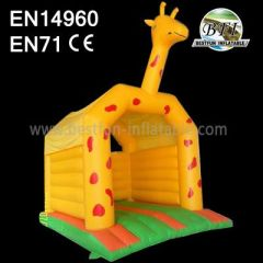 Giraffe Bounce House Castle